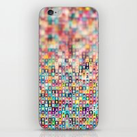 faces iPhone & iPod Skins featuring Faces by Ylenia Pizzetti