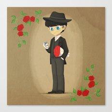 Retro Tuxedo Mask Canvas Print