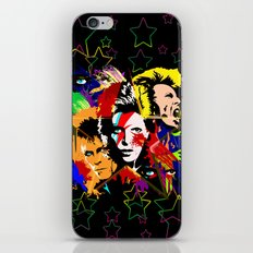 Bowie PopArt Metamorphosis iPhone & iPod Skin