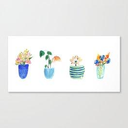 Potted Plants Canvas Print