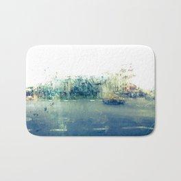 A través del cristal (color version) Bath Mat