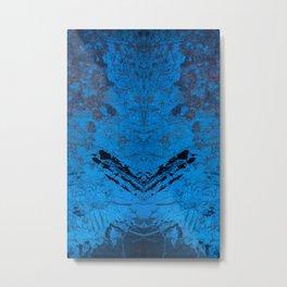 Big Blue Bunny Metal Print