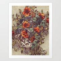 Robo Tortoise Art Print