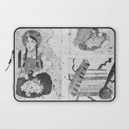 Anne of Green Gables Black & White Laptop Sleeve