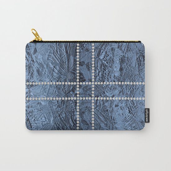 Ocean Blue Pearls Carry-All Pouch