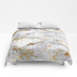 Italian gold marble Comforters