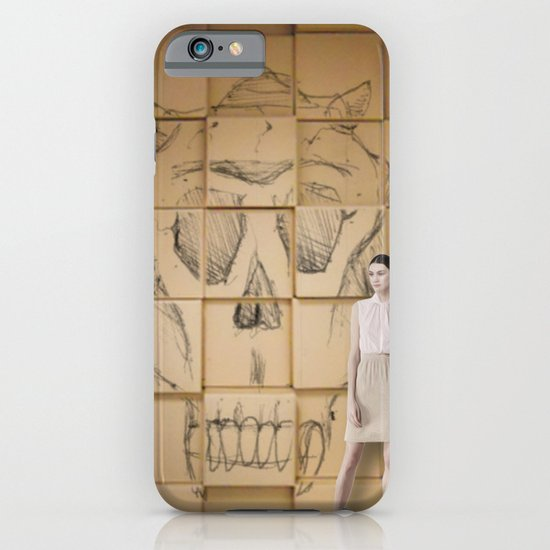 Space in Boxes with a model iPhone & iPod Case