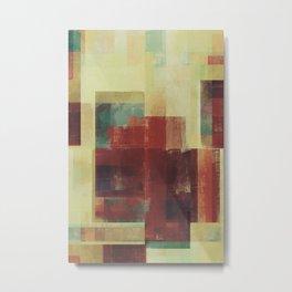 Abstract Geometry No. 21 Metal Print