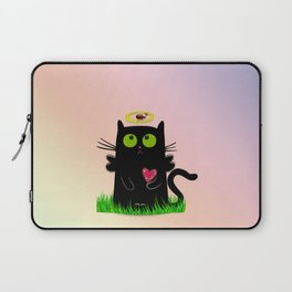 angel cat and ladybug Laptop Sleeve
