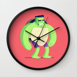 Heroes in a Half Shell: HULK Wall Clock