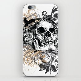 The life of the dead is retained in the memory of the living iPhone Skin