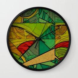 Tropical Farm Wall Clock