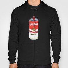Graffiti Tomato Spray Can Hoody