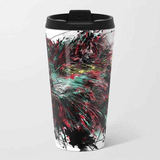 N WOlfie Metal Travel Mug