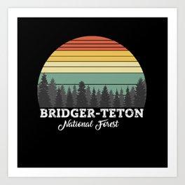 BRIDGER-TETON WYOMING Art Print