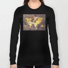 world map 35 sacred Long Sleeve T-shirt