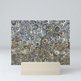 Smoke Tree Abstract Mini Art Print