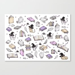 Wizard's Library Canvas Print