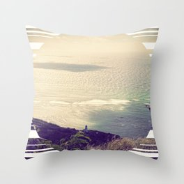 Light House Dreaming Throw Pillow