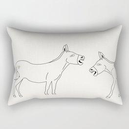 Laughing My Ass Off Rectangular Pillow