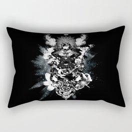 Orchids & Diamonds Rectangular Pillow