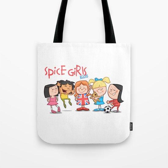 Spice Girls Kids Tote Bag