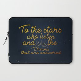 A Court of Mist and Fury - To The Stars Laptop Sleeve