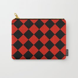 Harlequin Diamonds Carry-All Pouch