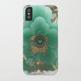 Gilded Sakura iPhone Case