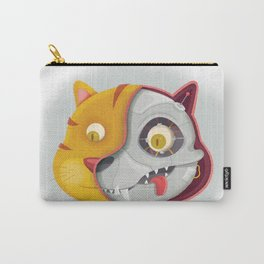 Cyborg cat Carry-All Pouch
