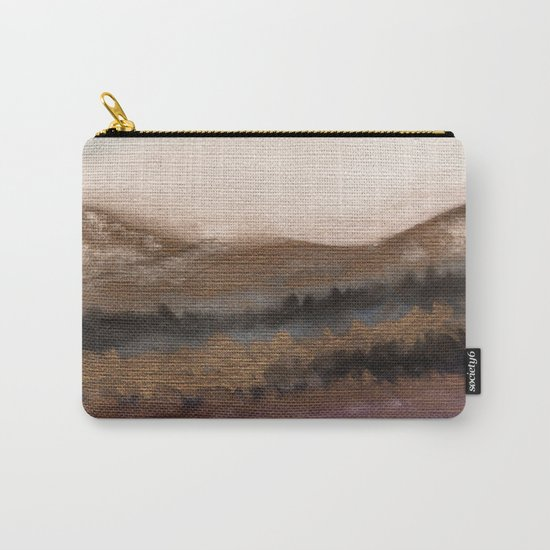 Watercolor abstract landscape 19 Carry-All Pouch