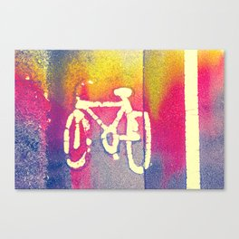Cycle Path 02A (everyday 31.01.2017) Canvas Print
