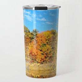 Autumn Pond Travel Mug