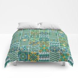 Azulejo Comforters