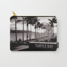 Turtle Bay Resort Hawaii Carry-All Pouch