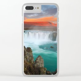 Godafoss Clear iPhone Case