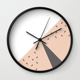 The Watermelon Abstract Wall Clock