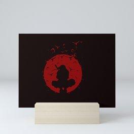 Uchiha Silhouette Mini Art Print