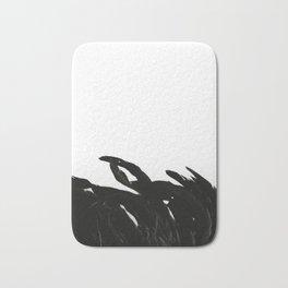 Black Raven Bath Mat