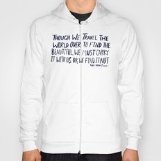 Ralph Waldo Emerson: Beautiful Hoody