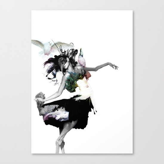 Dance Dance Canvas Print