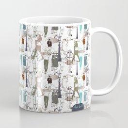 It often rains in London (white) Coffee Mug