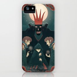 Three Brothers iPhone Case
