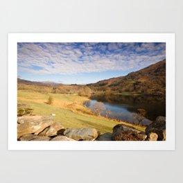 Rydal Water Cumbria Art Print