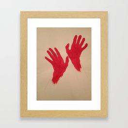 climbingupthewalls Framed Art Print