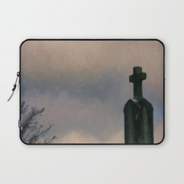 Grave on the Hill Laptop Sleeve