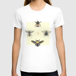 Bees on bees T-shirt