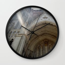 Grace Cathedral Sunshine Wall Clock