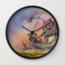 Monstro Wall Clock