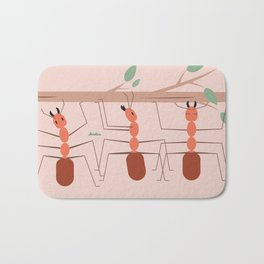 Ants at work Bath Mat